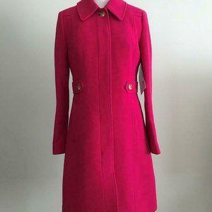 J.Crew $398 New Lady Day Coat Double-Cloth AE291